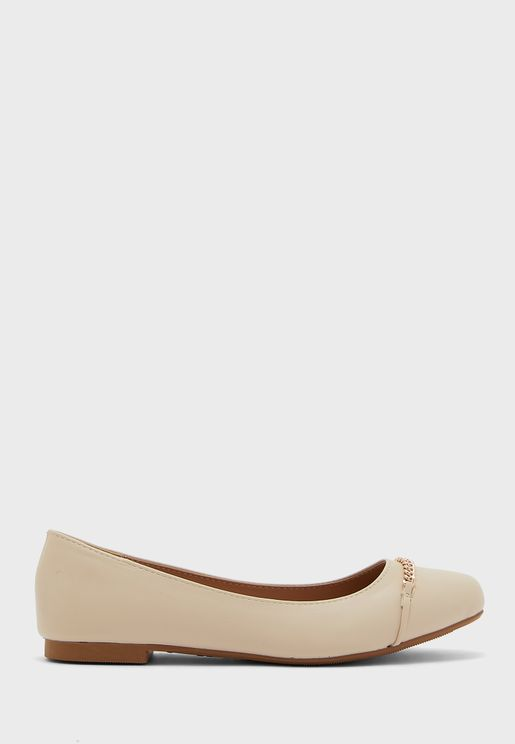 Wide Fit  Bow Ballerinas