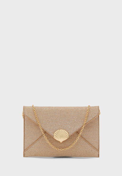 Envelope Shell Clutch