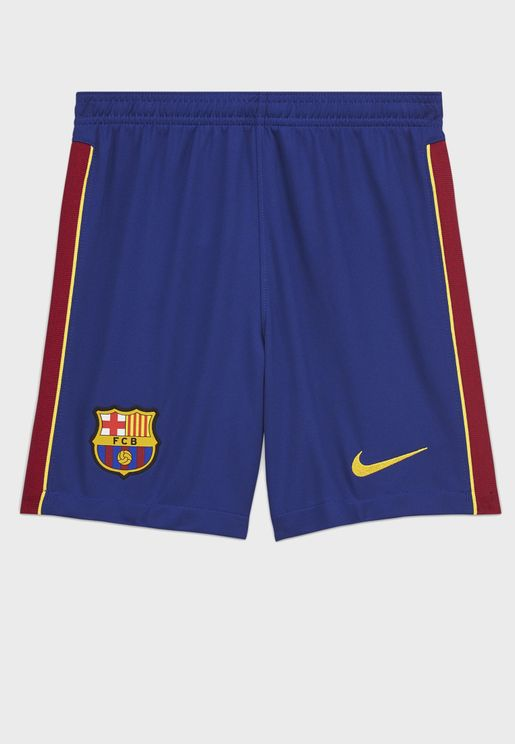 Youth FC Barcelona Breathe Home Stadium Shorts