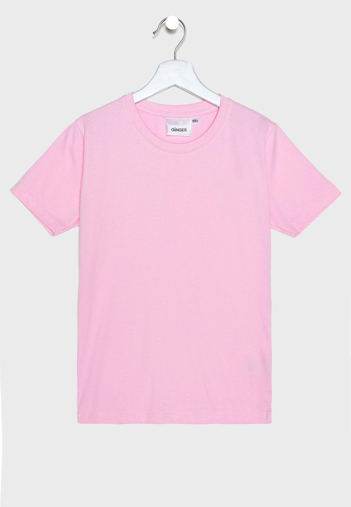 Kids 5 Pack Essential T-Shirt