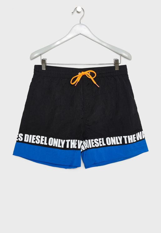 Wave Taped Swimshorts