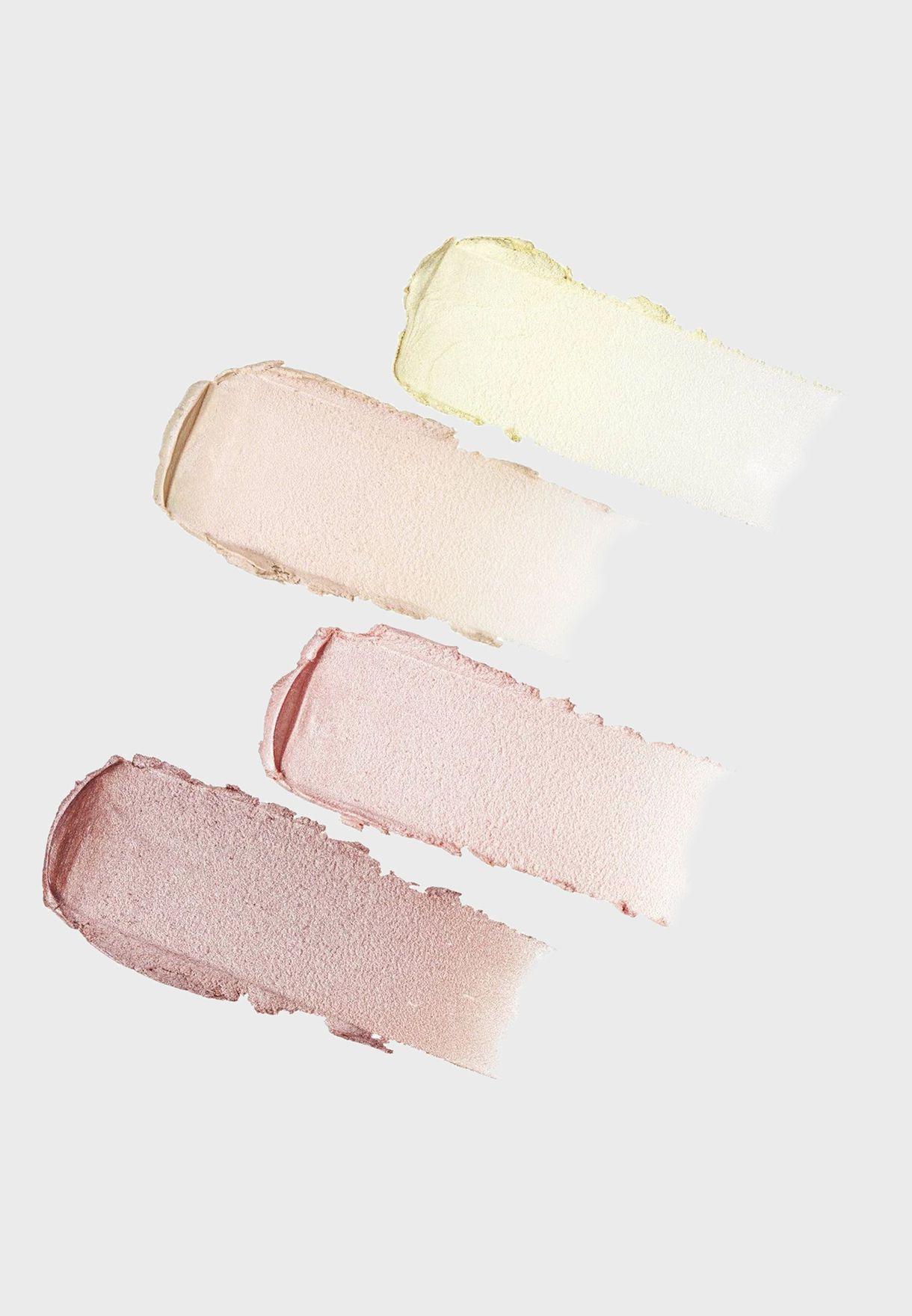 Ultra Glow Crème Highlighter Quad