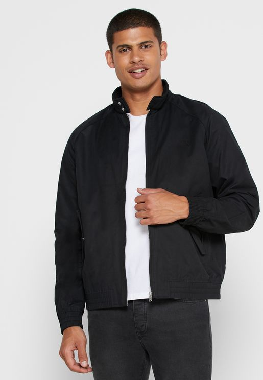Stand Collar Harrington Jacket