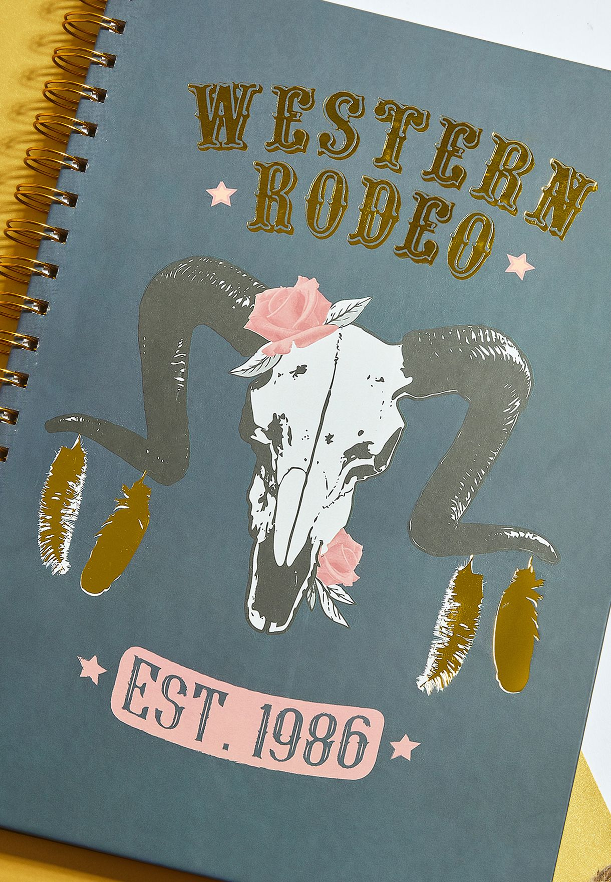 A4 Western Rodeo Notebook