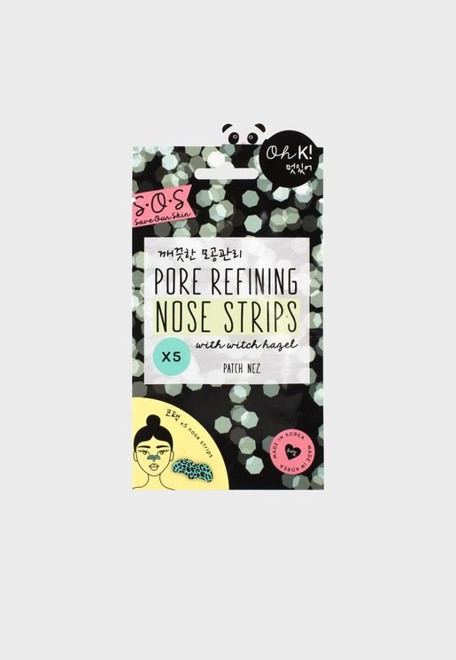 SOS Pore Refining Targeted Strips