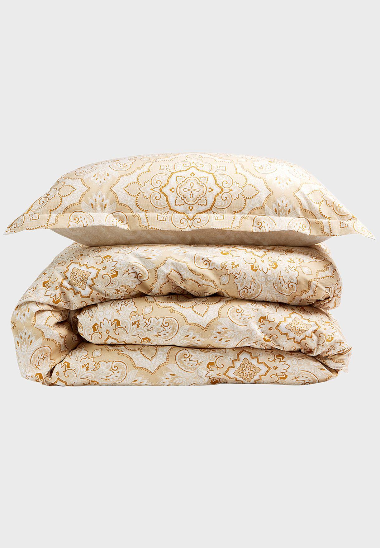 غطاء لحاف كينغ بطبعات مغربية