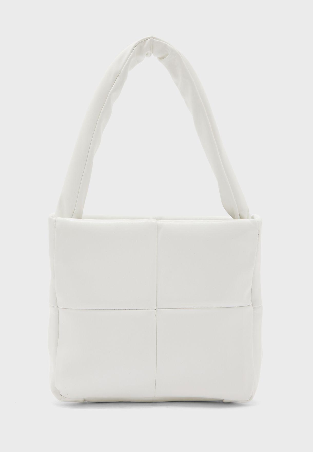 Padded Handle Mini Tote Bag