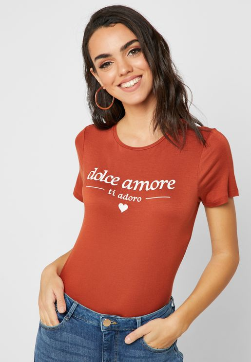 Dolce Amore  Short Sleeve T-Shirt