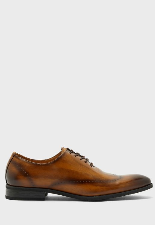 Wing Cap Brogue Lace Ups