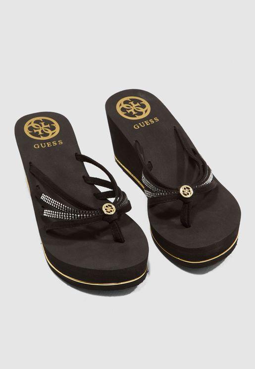 Salento Sandal - Black
