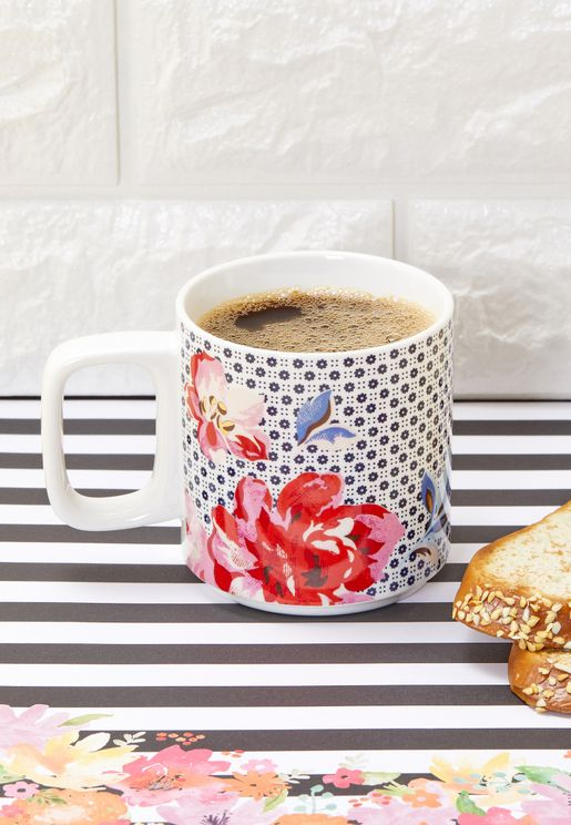 Floral Stackable Mug