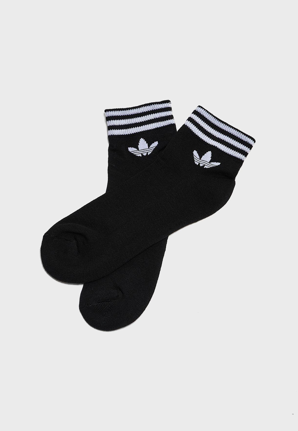 Trefoil Adicolor Casual Unisex Ankle Socks