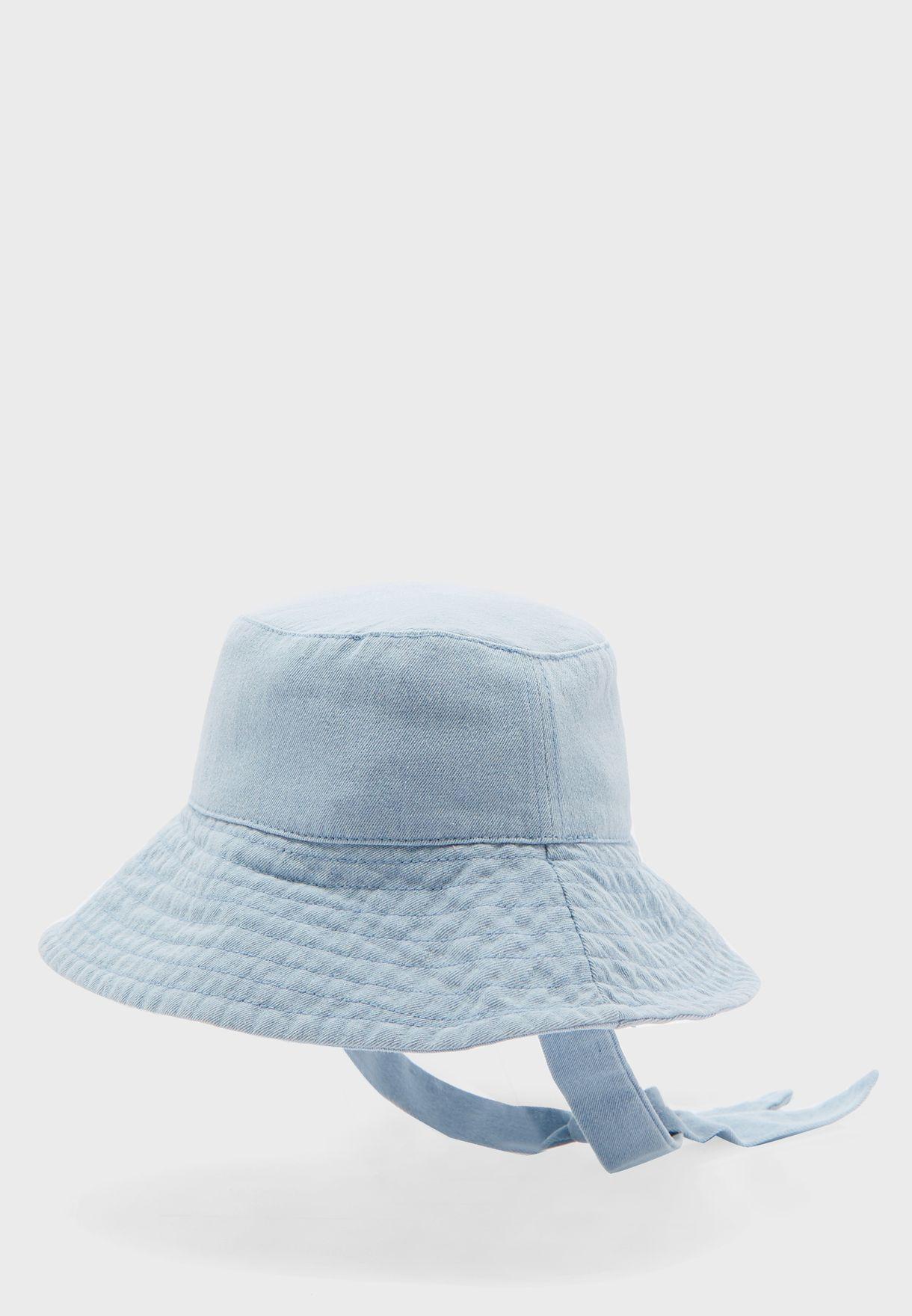 قبعة بحافة عريضة للاطفال