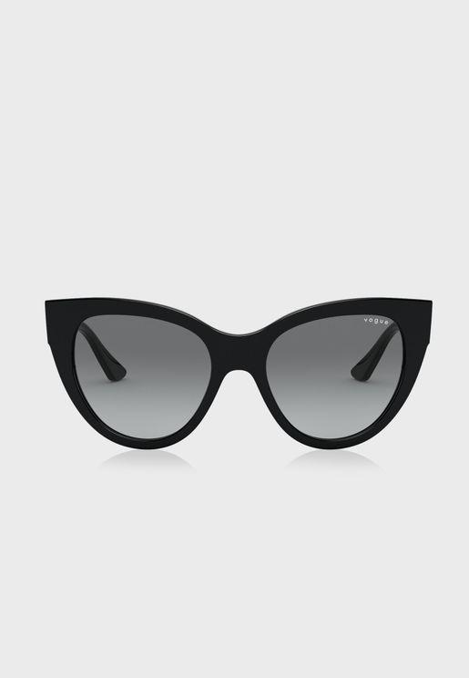 نظارة شمسية كبيرة 0VO5339S