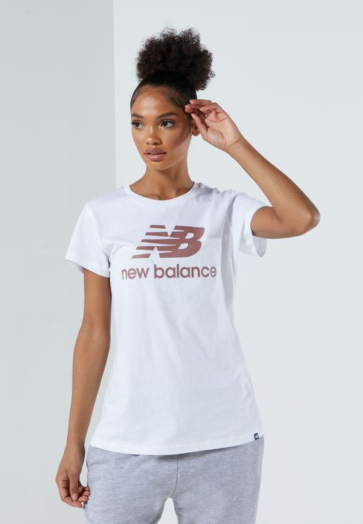 Essential Stacked Logo T-Shirt