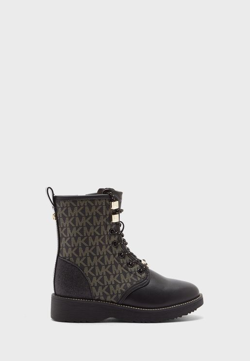 Youth Haskell Monogram Boots