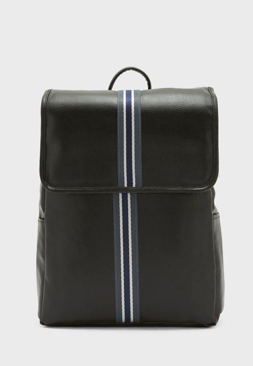 Webbing Detail Backpack