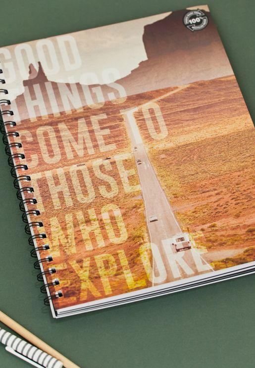 دفتر A4 مطبع