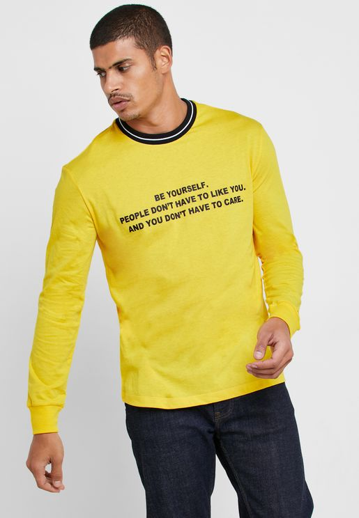 Be Yourself Crew Neck T-Shirt