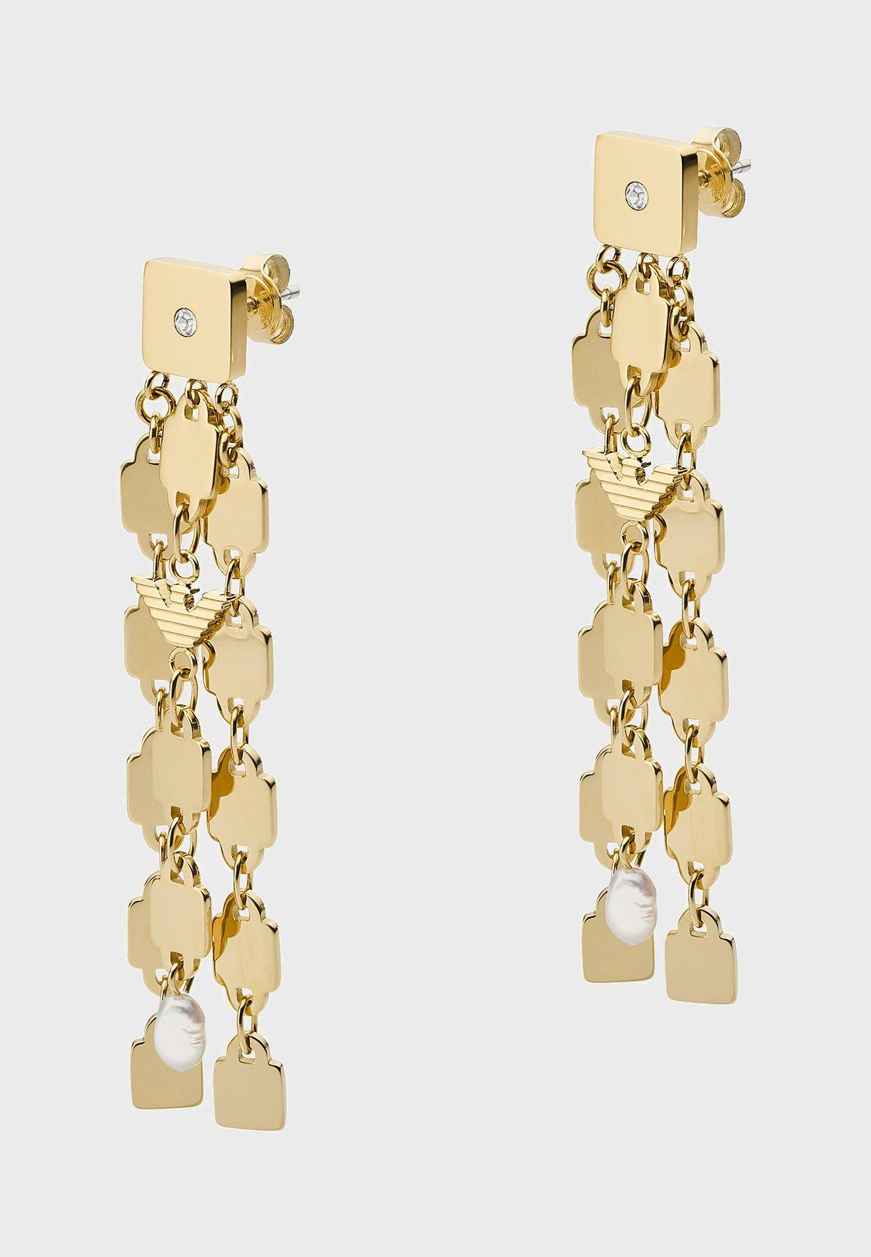 EGS2702710 Chain Drop Earrings