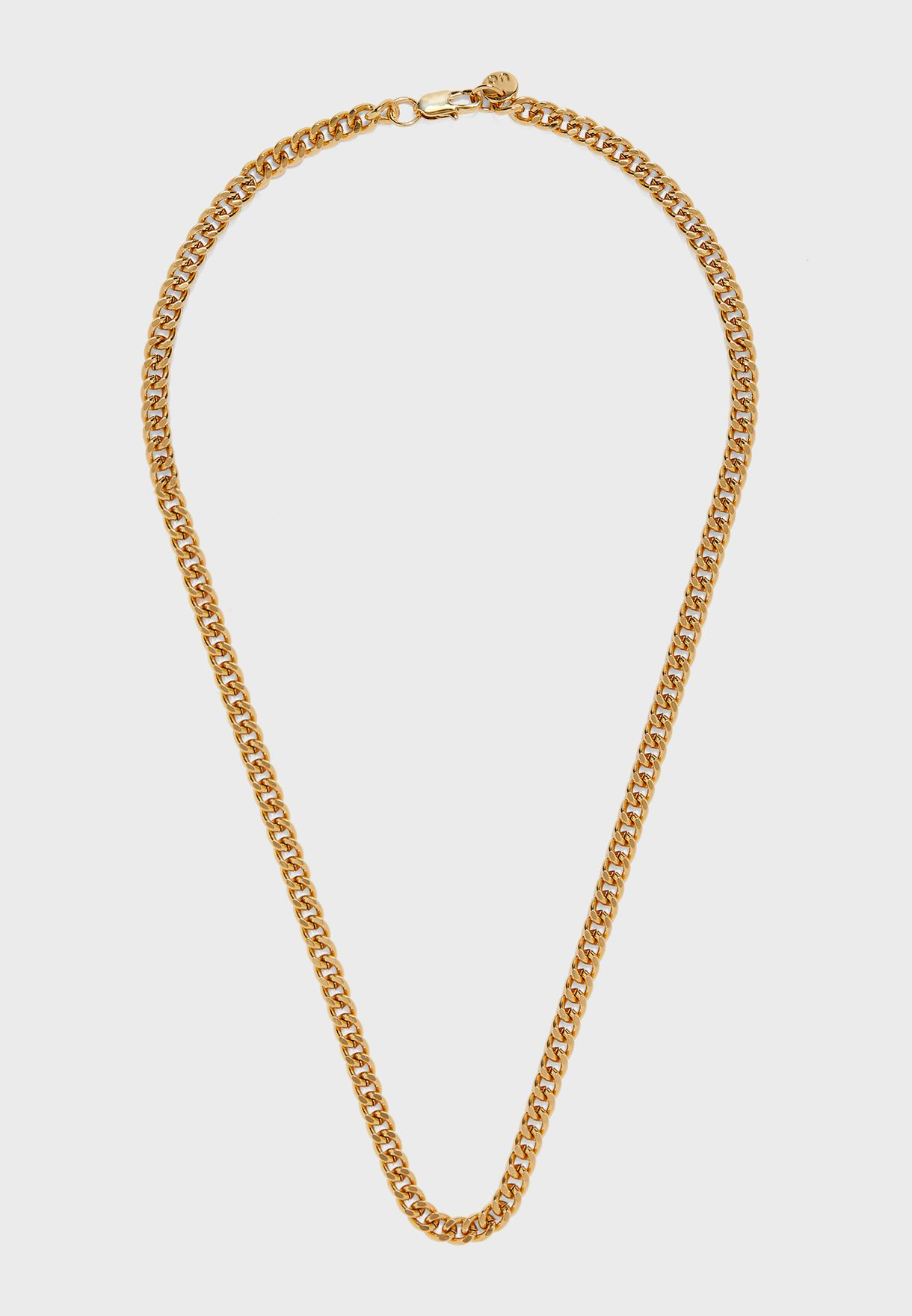 Tight Link Curbchain Necklace