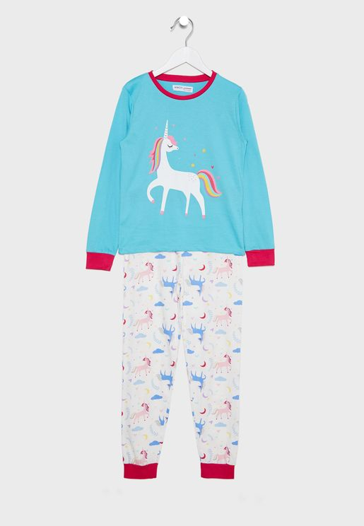 Teen Unicorn Pyjama Set