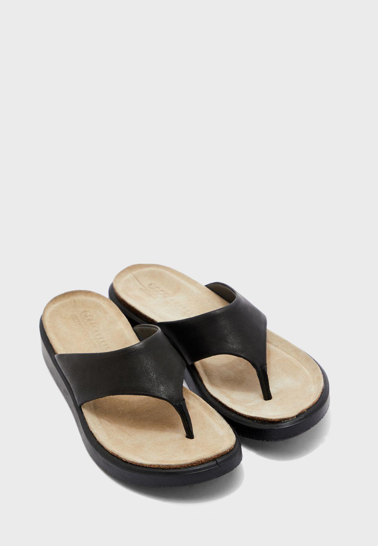 T-Shape Wedge Sandals