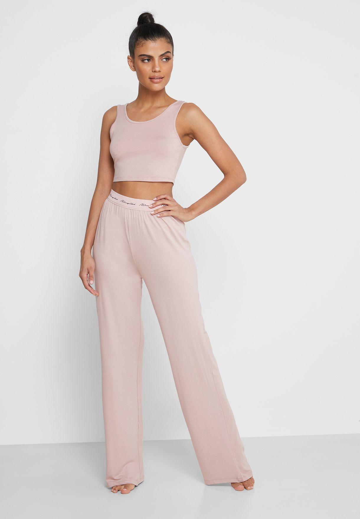 Wide Leg Pyjama Set