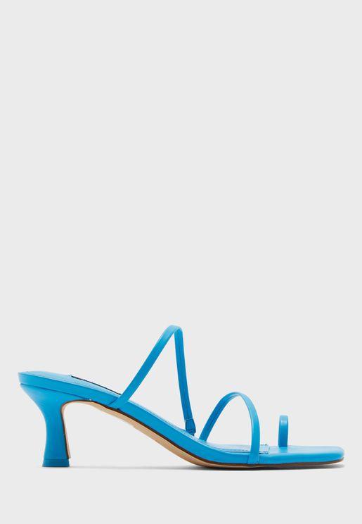 Mid Heel Sandals