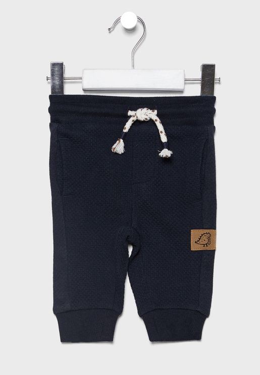 Infant Drawstring Cuffed Sweatpants