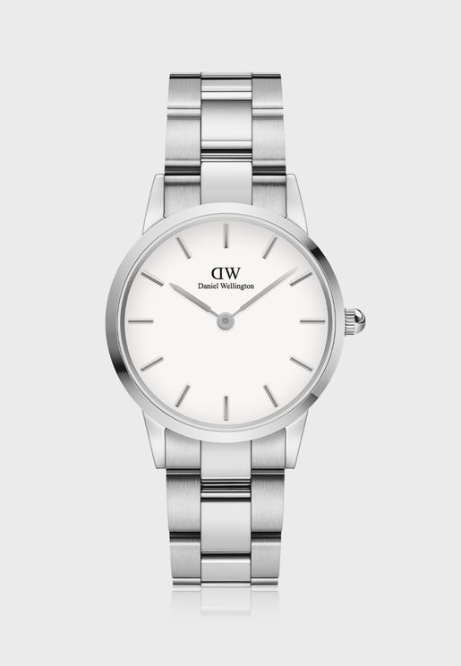 Iconic Link 28 S White DW00100207 Watch