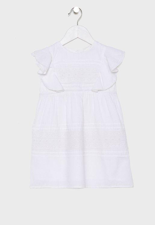 Kids Mila Flutter Dress