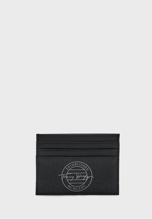 Monogram Card Holder