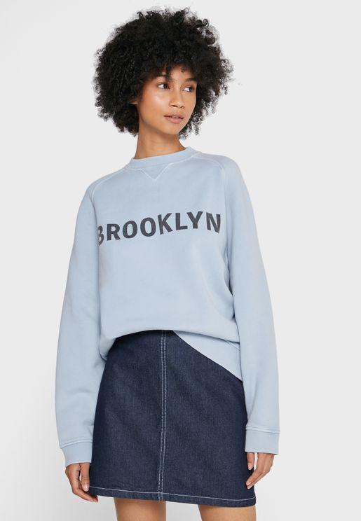 Crew Neck Brooklyn Sweatshirt