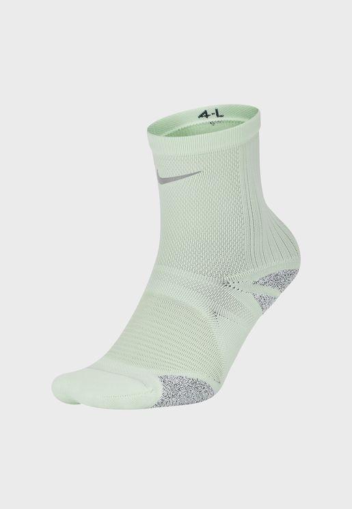 Racing Grip Ankle Socks
