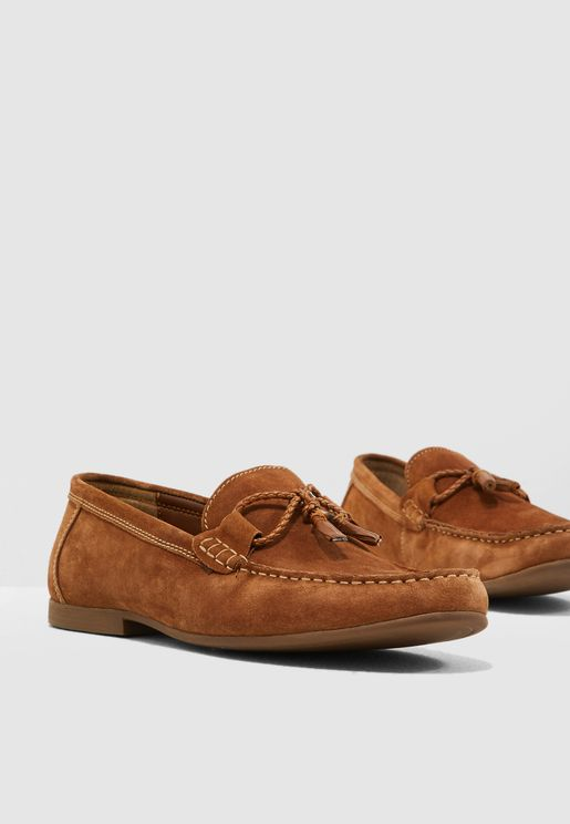 Suede Mason Loafers