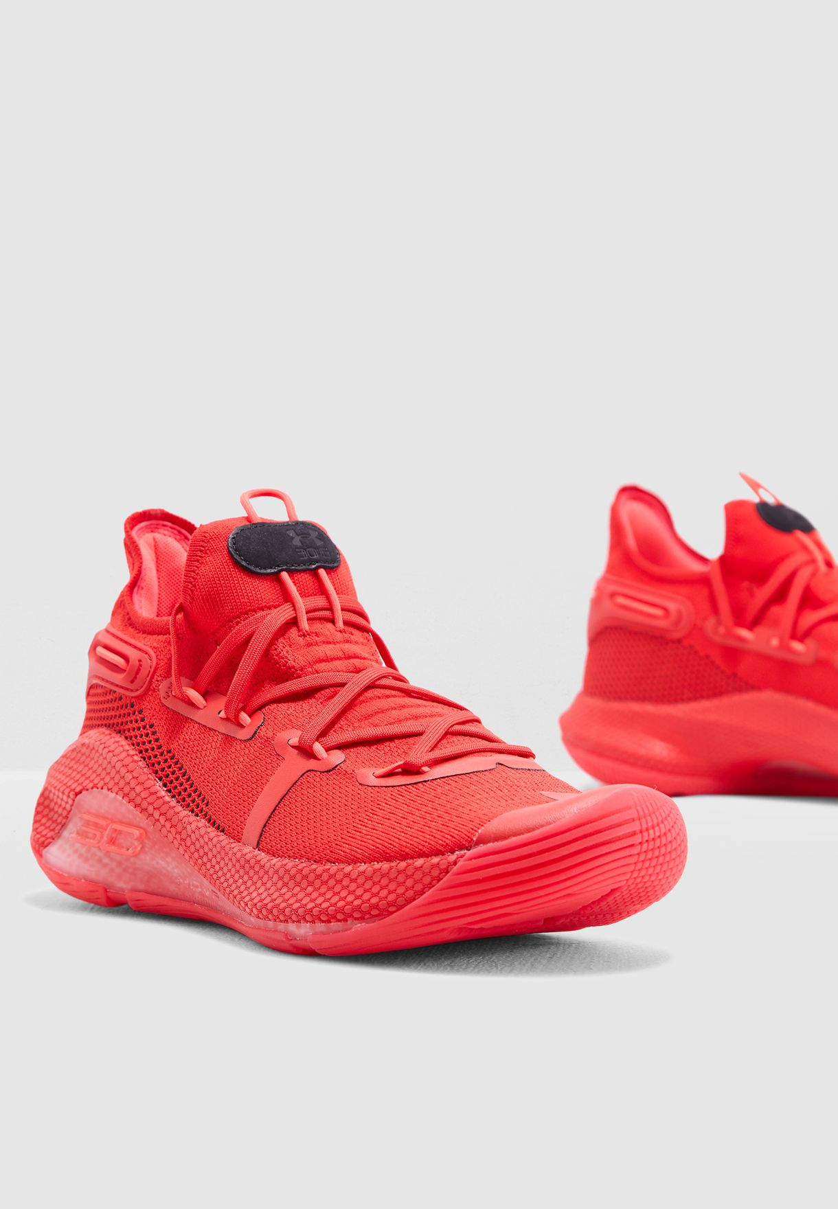 Buy Under Armour red Curry 6 for Men in
