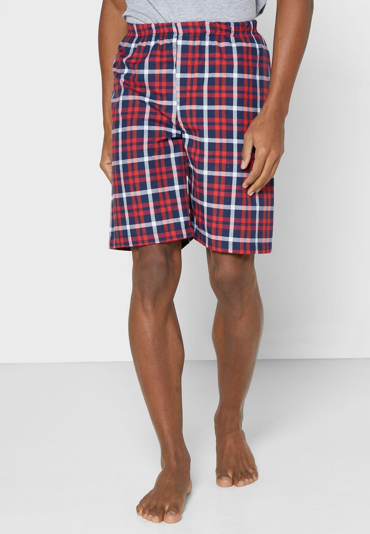 Check Short Nightwear Set