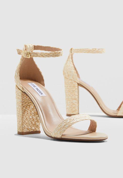 Carrson Ankle Strap Sandal - Nude