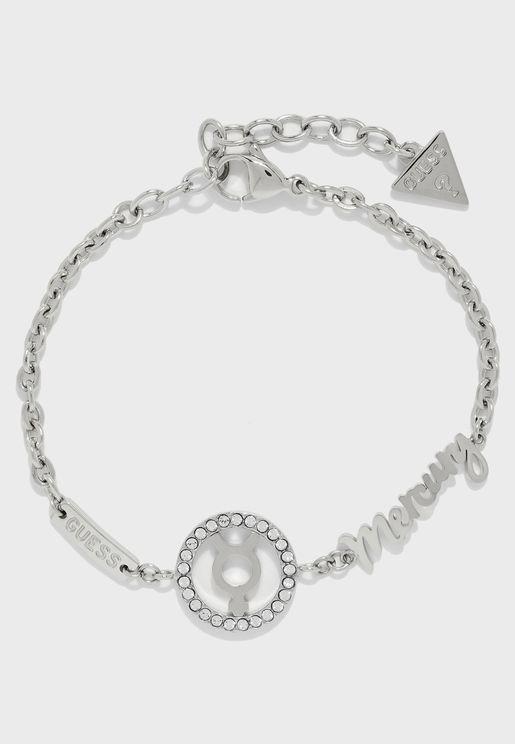Mercury Logo Bracelet