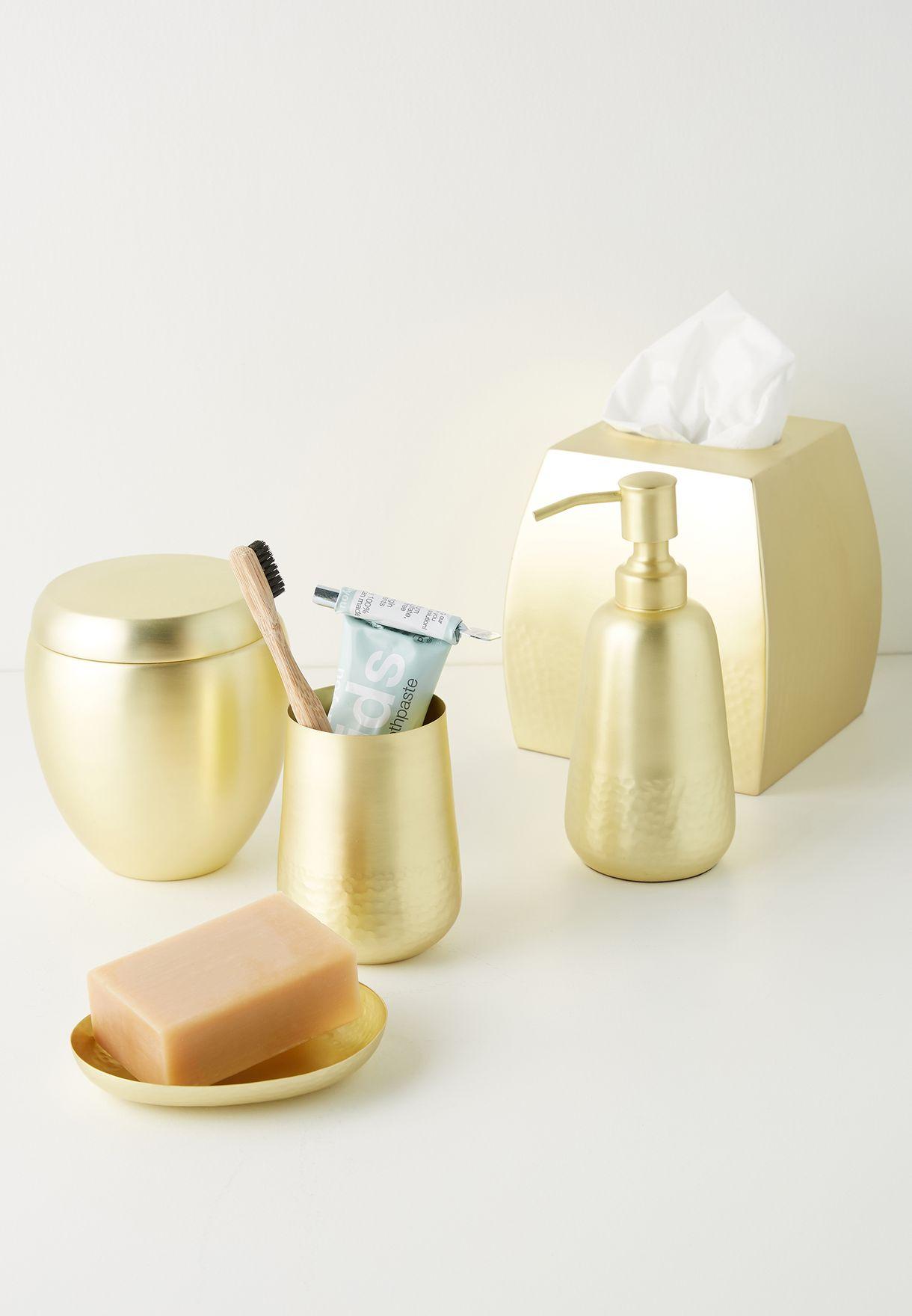 Gold Storage Tumbler