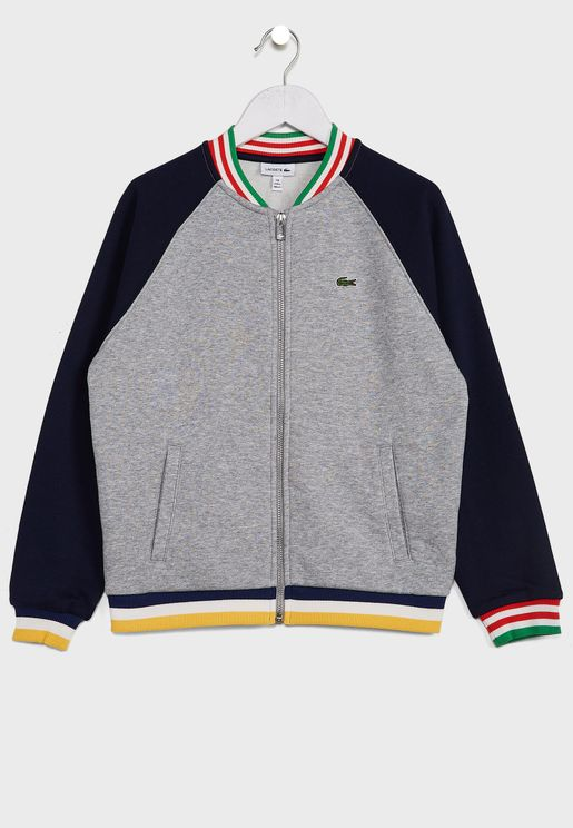 Kids Casual Track Jacket