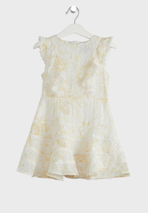 Little Sadie Trim Dress