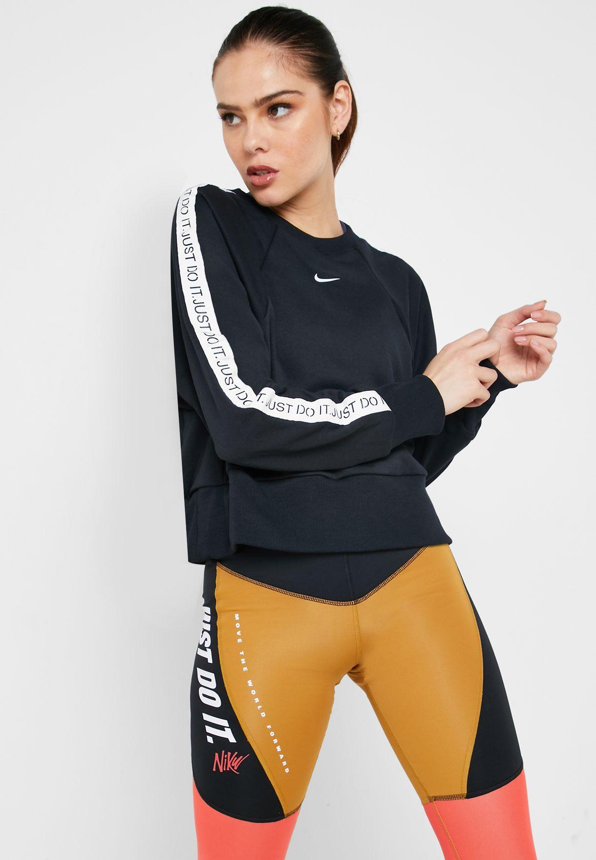 nike leggings just do it xs, NIKE TECH FLEECE AOP Sweatshirt