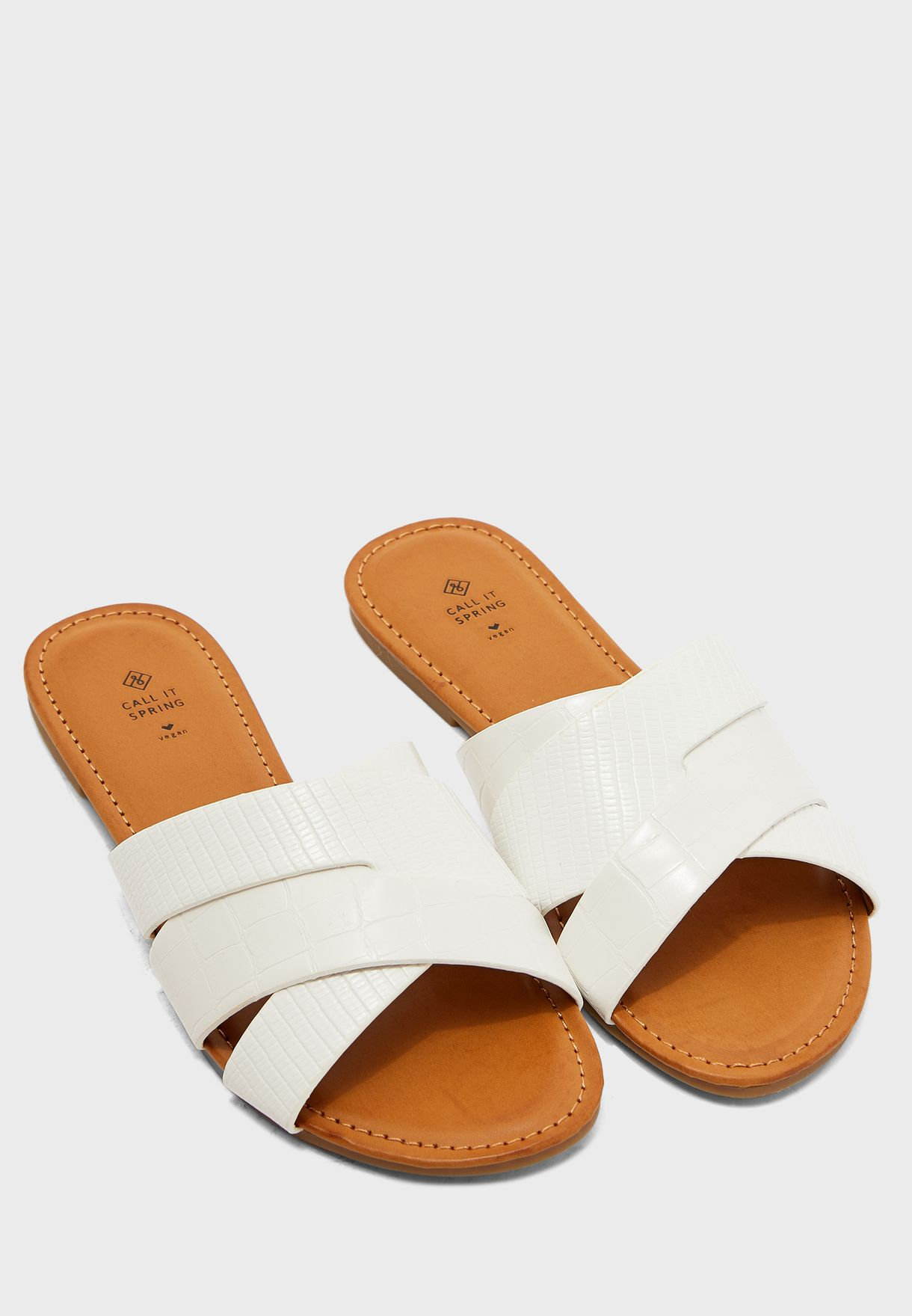 Billie Multi Strap Flat Sandal