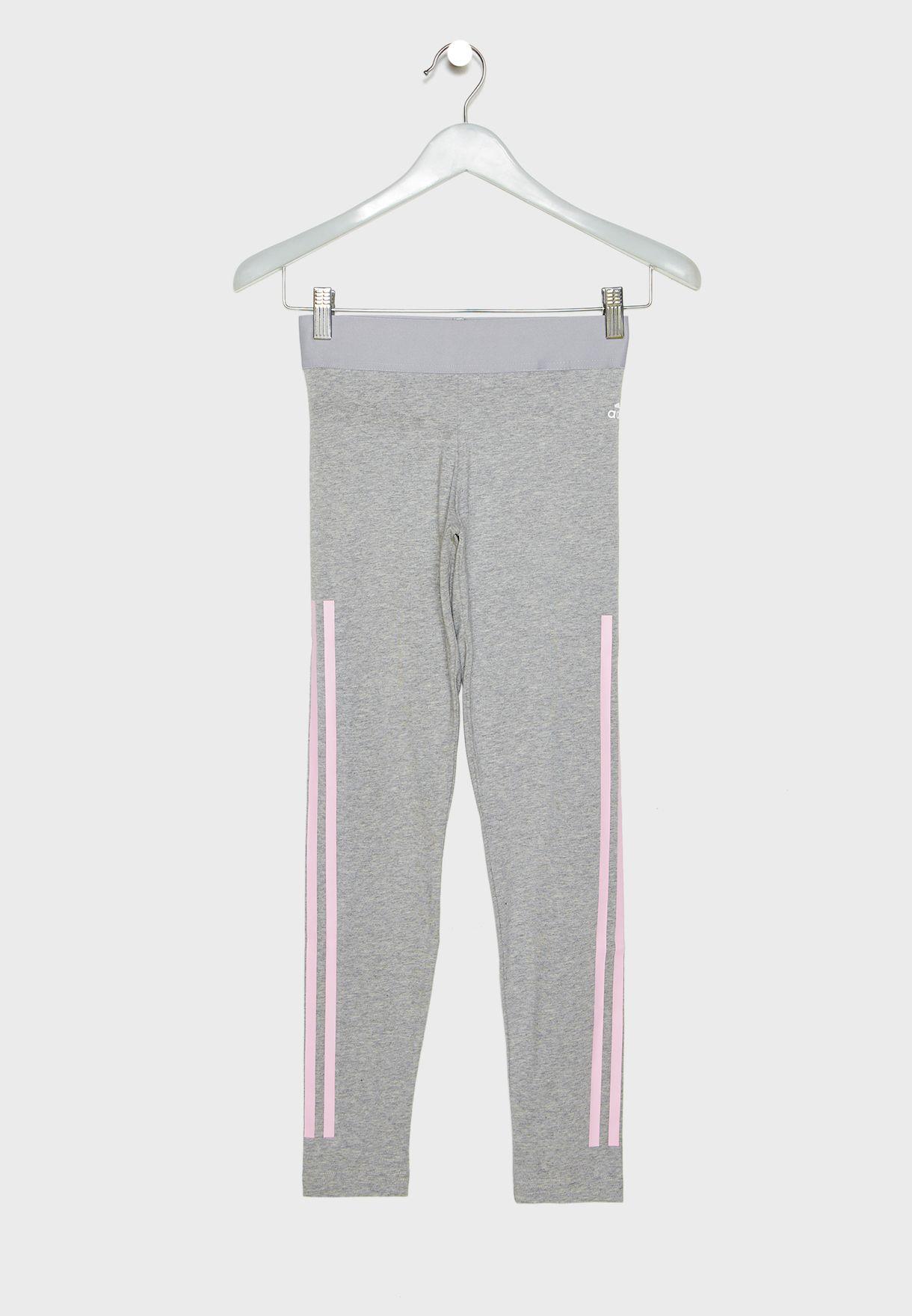 Youth 3 Stripe Leggings