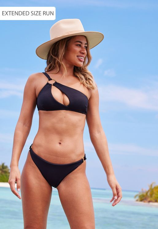 Ella Ring Detail Bikini Top