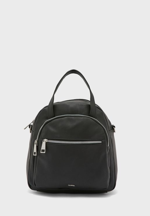 Front Zip Pocket Tote