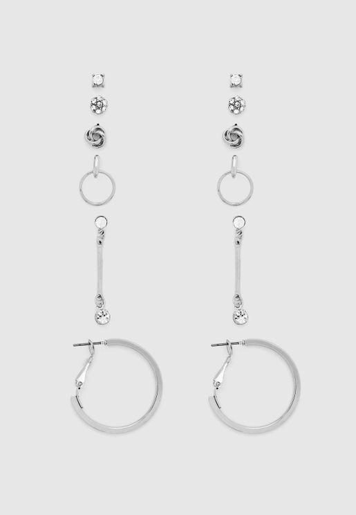 Multipack Nertera Earrings