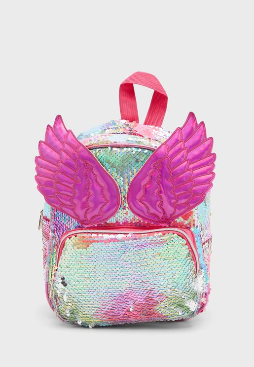 Kids Sequence Backpack